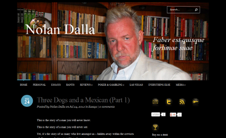 Nolan Dolla Blog Home Page