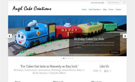 Angel Cake Creations Screenshot