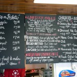 The Lobster Claw Menu by Lee Coursey